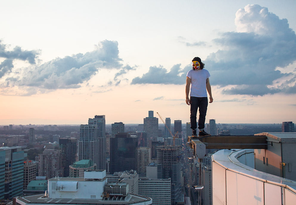 rooftopping photography