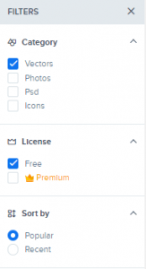 Cara Download Vektor Premium Gratis di Freepik